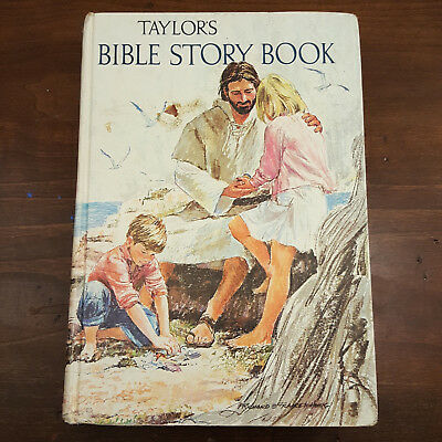 Antique Vintage Taylor's Bible Story Book by Kenneth N. Taylor 1970 Hardcover