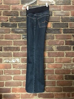 7 Seven For All Mankind 7FAMK Pea in a Pod Maternity Stretch Jeans Size 28