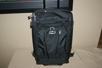 "eBags Mother Lode TLS Mini 21"" Rolling Carry On Luggage Suitcase Black"