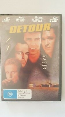 Detour [DVD] NEW & SEALED, Multi Region, FREE Next Day Post from NSW