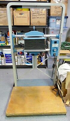 BESELER 45M XD Large Format Enlarger w/Motorized Chassis Wooden Baseboard