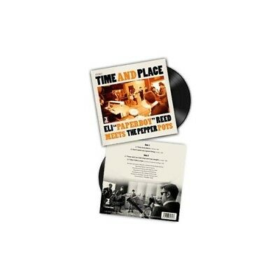Time And Place EP (+DVD) Single Schallplatte Pepper Pots,The/Reed,Eli Paperboy