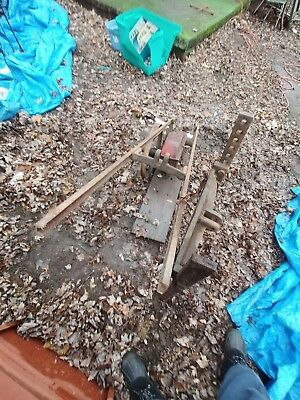 Antique Vintage Cast Iron The Heller-Aller Co. Model 3 Windmill Water Pump Jack