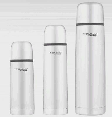ThermoCafe Hot Cold Stainless Steel Flask 350ml 500ml 1L Tea Coffee Winter Warm