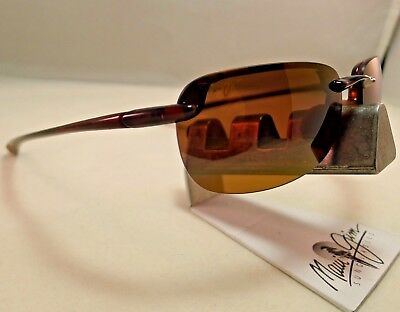 Maui Jim Sandy Beach Mj H408-10 Tortoise Hcl Bronze Polarized Sunglasses New 9.9