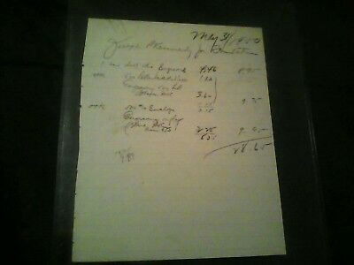 Joseph P. Kennedy Sr. Hand Signed Autograph Letter from JFK White House files