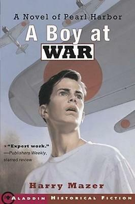 NEW A Boy at War By Harry Mazer Paperback Free Shipping