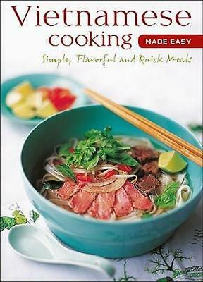 NEW Vietnamese Cooking Made Easy By Periplus Editions Book with Other Items