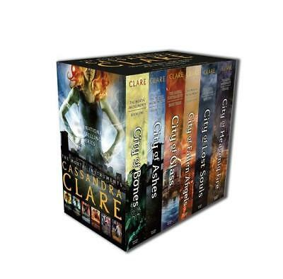 NEW The Mortal Instruments Slipcase : Six books By Cassandra Clare Free Shipping