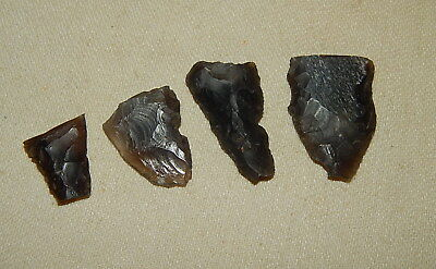 Neolithic Arrowheads, Ukraine Flint Artifact!