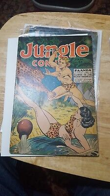 JUNGLE COMICS #61 1945  golden age pre code Kaanga nice copy Fiction House