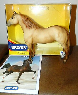 Breyer Crillo Pony (yellow dun) in Factory Mint Condition w/box & box manual