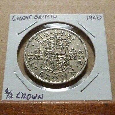 1/2 CROWN COIN - 1950 - Great Britain