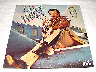 "Danny Davis & The Nashville Brass ""Travelin' "" 1973 Country LP, QUAD, SEALED!"