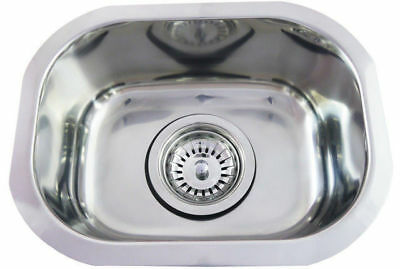 Small Bar Single Bowl Inset Kitchen SINK Stainless Steel Tub CM2 7L 315x240x125