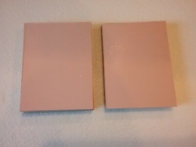 18 pcs  Copper Clad Circuit Board Laminate FR-4, .017, 1 oz. Double Sided, 3 x 4