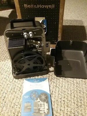 Vintage Bell & Howell Model 346a Autoload Super 8 Movie Projector 346 with box