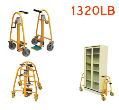 Dolly Hand Operated Furniture  Dolly  & Equipment Moving Pair 1320 Lb Capacity