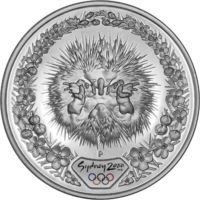 Echidna & Flora - The 2000 Sydney Olympics 1oz Silver Proof Coin Set