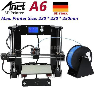 Anet A6 3D Printer DIY i3 High Precision Reprap 3D Desktop Drucker DHL Ship Z1S2