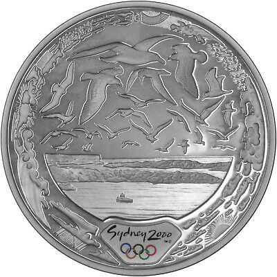 Harbour of Life (Air) - The 2000 Sydney Olympics 1oz Silver Proof Coin Set