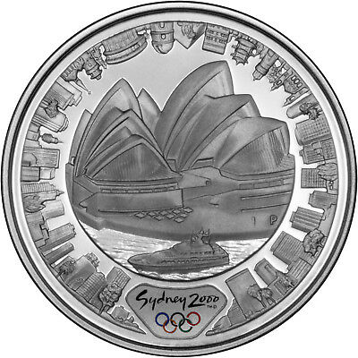 Opera House - The 2000 Sydney Olympics 1oz Silver Proof Coin Set