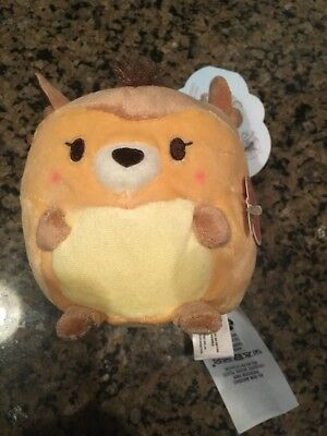 Disney Store Bambi Ufufy Plush New With Tag US Verison Apple Scented