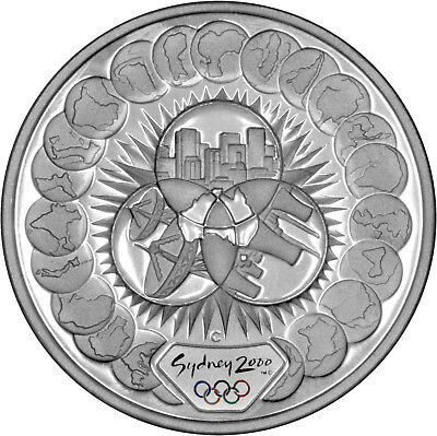 Reaching the World (#1) - The 2000 Sydney Olympics 1oz Silver Proof Coin Set