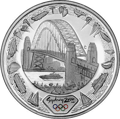 Harbour of Life (Water) - The 2000 Sydney Olympics 1oz Silver Proof Coin Set