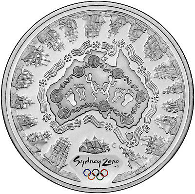 Sea Change (#1) - The 2000 Sydney Olympics 1oz Silver Proof Coin Set