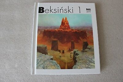 Beksiński part 1 Painting hardcover art book NEW !!! ZDZISLAW BEKSINSKI