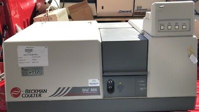 Beckman Coulter DU800 Spectrophotometer For Parts Repair