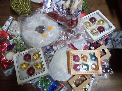 tres gros lot deco de noel :plus de 60 pieces neuves