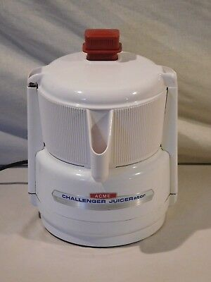 Vintage Acme Supreme Juicerator Electric Centrifugal Juicer Model 7001