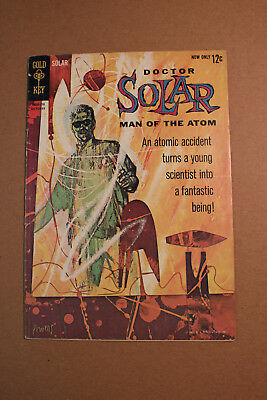 Doctor Solar Man of the Atom #1 by Gold Key 1st appearance Dr Solar lower grade