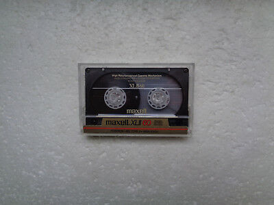 Vintage Audio Cassette MAXELL XLII 60 From 1986 - Excellent Condition !