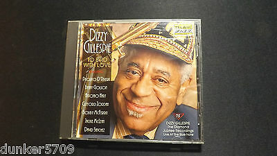 To Bird With Love Dizzy Gillespie Cd 1992 7 Songs