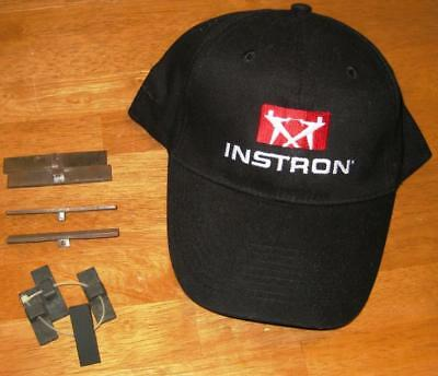 INSTRON TENSILE TESTER GRIP Jaw Faces 200# 2000g and New Hat Used Parts Lot