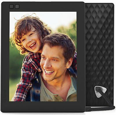 10 Inch Digital Picture Frame WiFi Cloud IPS Display Motion Sensor Photo Display