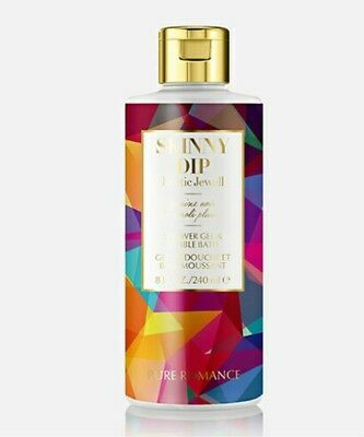 Pure Romance New! Skinny Dip! 2-in-1 Bubble Bath And Body Wash! Exotic Jewell!