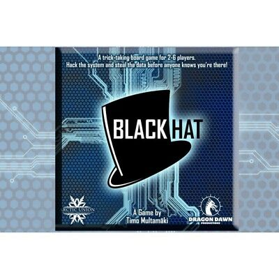 Artic Union Black Hat Boardgame Gioco Da Tavolo