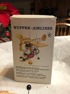 Wupper Airlines Official German Toy Flying Airplane Kids Toy/Decoration