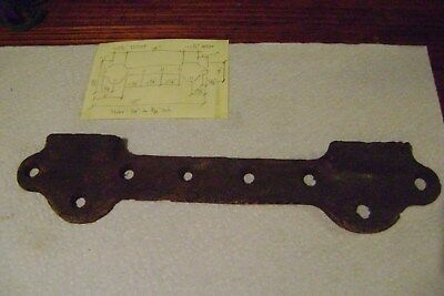 Antique vintage cast iron wall mount sink bracket