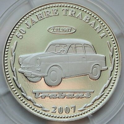 East Germany, Commemorative coin, 50 Years of Trabant 1957 - 2007, DDR