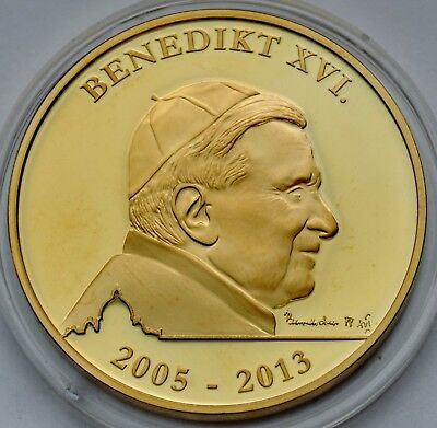 Vatican City 2013, Commemorative Coin, Pope Benedict XVI, St Peter's Basilica