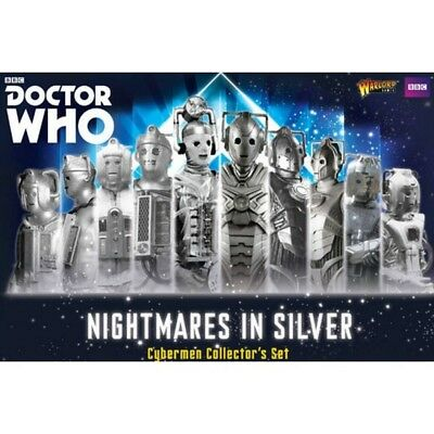 Warlord Games Doctor Who Nightmares In Silver Cybermen Gioco Da Tavolo [2206988]