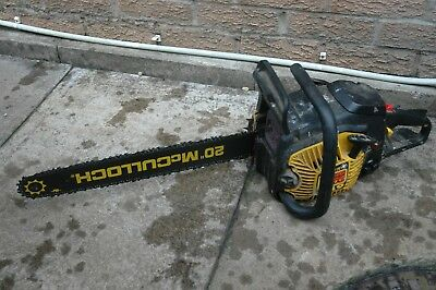 McCulloch 849 Timber Bear Petrol Chainsaw 20 inch Blade