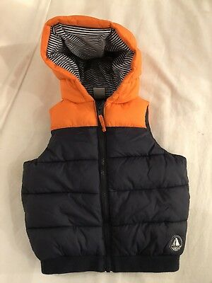 Petit bateau Sleeveless Padded Jacket 12 Month NEW