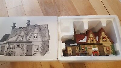 Department 56 Dickens Village Butter Tub Farmhouse #58337