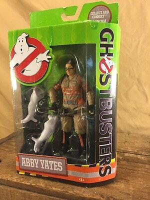 Ghostbusters 2016 Abby Yates Action Figure New in Box Mattel, Rowan Arms